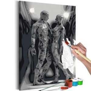 Malen nach Zahlen Erwachsene Wandbild Malset mit Pinsel Malvorlagen n-A-0262-d-a