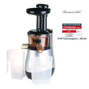 Entsafter: Elektrischer Slow Juicer, 60 Umdrehungen/Min., leiser Motor, 150 Watt
