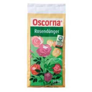 Oscorna - Rosendünger 20 kg - Rosen Dünger Sepzialdünger Rosenpflanzen