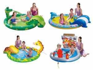 Summer Waves Planschbecken Kinderpool Kinder Pool Becken zur Auswahl