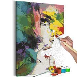 Malen nach Zahlen Erwachsene Wandbild Malset mit Pinsel Malvorlagen n-A-0250-d-a
