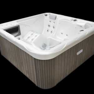Whirlpool Outdoor 200 x 200 x 89  5 Personen Made in EU 230V Wellis Pluto AKTION