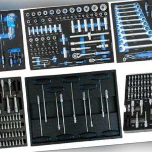 Werkzeug Einlage Modul f. Werkstattwagen Werkzeugkisten System Schaum Einleger