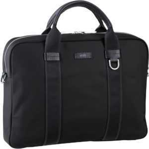 BOSS Aktenmappe Meridian Single Document Case 407151 Black ab 319.00 (395.00) Euro im Angebot