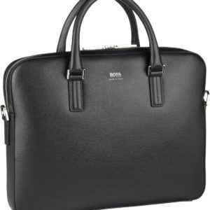 BOSS Aktenmappe Signature Slim Document Case 390138 Black ab 485.00 (595.00) Euro im Angebot