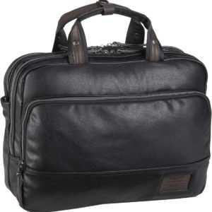 Bugatti Aktentasche Moto D Business Bag Schwarz ab 80.90 (99.90) Euro im Angebot