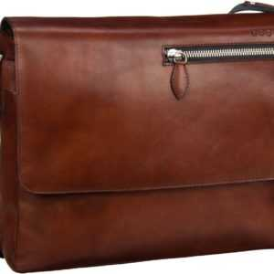 Bugatti Notebooktasche / Tablet Domus Messenger Bag Cognac ab 162.00 () Euro im Angebot