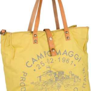 Campomaggi Handtasche Shopper C1661 Teodorano Giallo/Naturale/Stampa Grigia ab 210.00 () Euro im Angebot