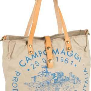 Campomaggi Handtasche Shopper C1671 Teodorano Beige/Naturale/Stampa Blu ab 190.00 () Euro im Angebot