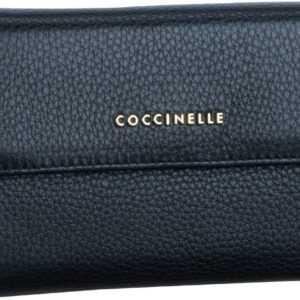 Coccinelle Geldbörse Metallic Soft 1166 Noir ab 114.00 () Euro im Angebot