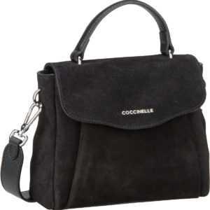 Coccinelle Handtasche Andromeda Suede 5501 Nero ab 268.00 () Euro im Angebot