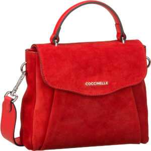 Coccinelle Handtasche Andromeda Suede 5501 Polish Red ab 268.00 () Euro im Angebot