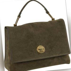 Coccinelle Handtasche Liya Suede 1801 Evergreen ab 350.00 () Euro im Angebot