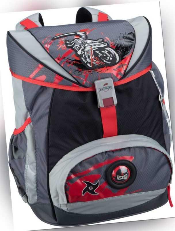 DerDieDas Schulranzen ErgoFlex Set Ninja on Bike (20.5 Liter) ab 207.00 (229.00) Euro im Angebot