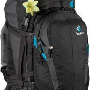 Deuter Trekkingrucksack Quantum 60+10 SL Black/Turquoise (60 Liter) ab 176.00 (219.00) Euro im Angebot