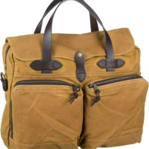 Filson Aktentasche 24 Hour Tin Briefcase Dark Tan (15 Liter) ab 485.00 (495.00) Euro im Angebot