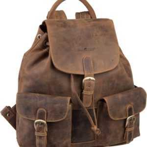 Greenburry Rucksack / Daypack Vintage 1711 Rucksack Sattelbraun ab 169.00 (199.00) Euro im Angebot