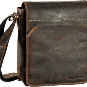 Greenburry Umhängetasche Vintage Flapzip Tasche Sattelbraun ab 119.00 () Euro im Angebot