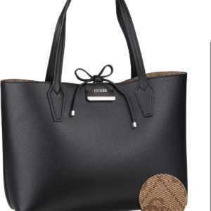 Guess Handtasche Bobbi Inside Out Tote Black/Brown (innen: Braun) ab 108.00 (130.00) Euro im Angebot