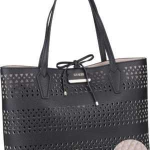 Guess Handtasche Bobbi Inside Out Tote Black/Stone (innen: Beige) ab 108.00 (130.00) Euro im Angebot