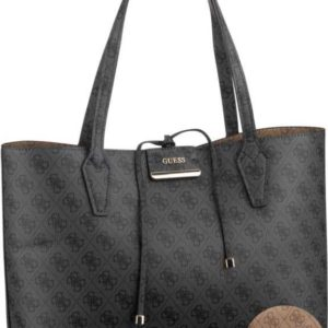 Guess Handtasche Bobbi Inside Out Tote Logo Coal/Brown (innen: Braun) ab 130.00 () Euro im Angebot