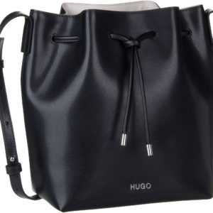 HUGO Handtasche Downtown Drawstring 407876 Black ab 235.00 (295.00) Euro im Angebot