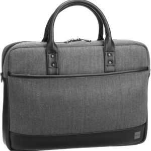Knomo Aktenmappe Holborn Princeton 15.6'' Grey ab 109.00 (129.00) Euro im Angebot