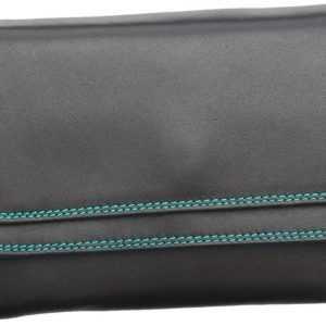 Mywalit Geldbörse Double Flap Purse Wallet Black Pace ab 81.00 () Euro im Angebot