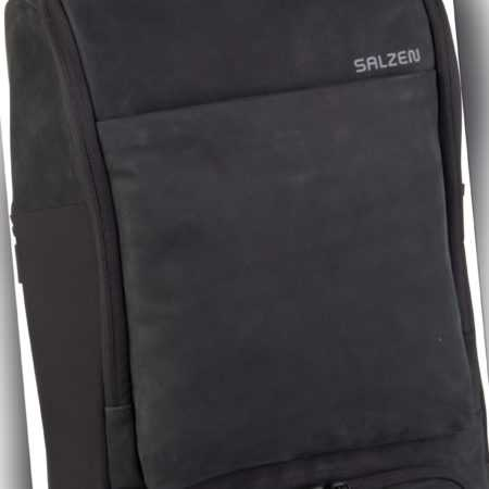 Salzen Laptoprucksack Alpha Backpack Leather Charcoal Black (17 Liter) ab 339.00 (379.00) Euro im Angebot