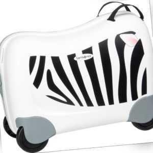 Samsonite Reisegepäck für Kinder Dream Rider Suitcase Zebra Zeno (25 Liter) ab 64.90 () Euro im Angebot