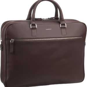 Sandqvist Aktenmappe Dag Briefcase Dark Brown (6 Liter) ab 304.00 (379.00) Euro im Angebot