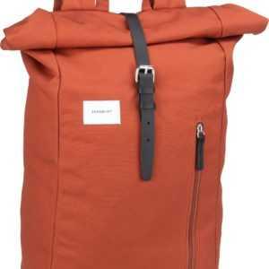 Sandqvist Laptoprucksack Dante Backpack Black/Natural Leather (18 Liter) ab 103.00 (119.00) Euro im Angebot