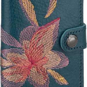 Secrid Brieftasche Miniwallet Stitch Magnolia Petrolio ab 71.95 () Euro im Angebot