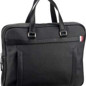 Tommy Hilfiger Aktenmappe Coated Canvas Slim Computer Bag 4893 Black ab 125.00 (149.00) Euro im Angebot