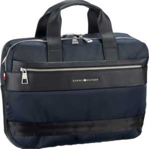 Tommy Hilfiger Aktentasche Nylon Mix Workbag 5015 Tommy Navy ab 135.00 (159.00) Euro im Angebot