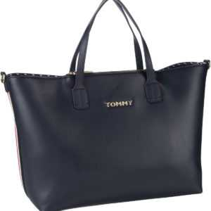 Tommy Hilfiger Handtasche Iconic Tommy Satchel Sky Captain ab 135.00 () Euro im Angebot