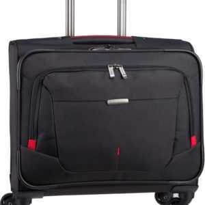 travelite Pilotenkoffer @Work 4-Rad Trolley Business Schwarz (32 Liter) ab 80.90 (99.90) Euro im Angebot