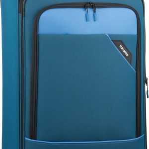 travelite Trolley + Koffer Derby 4-Rad Trolley L exp Blau (102 Liter) ab 68.90 (79.95) Euro im Angebot