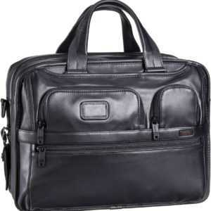 Tumi Aktentasche Alpha 2 Leather Business 96141 Aktentasche Black ab 735.00 () Euro im Angebot
