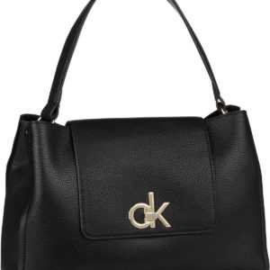 Calvin Klein Handtasche Re-Lock Top Handle Satchel Black ab 139.00 () Euro im Angebot