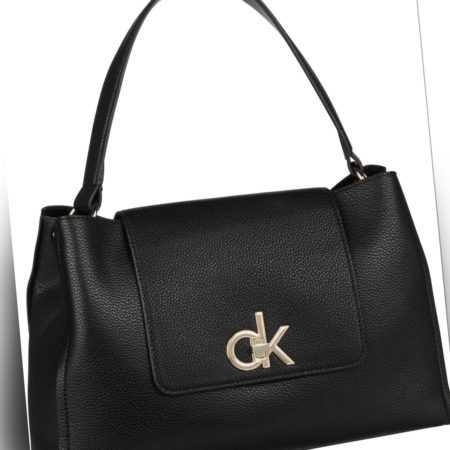 Calvin Klein Handtasche Re-Lock Top Handle Satchel Black ab 139.00 () Euro im Angebot