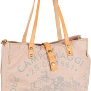 Campomaggi Handtasche Shopper C1671 Teodorano Cipria/Naturale/Stampa Grigia ab 190.00 () Euro im Angebot