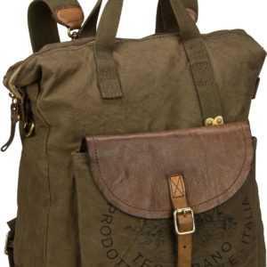 Campomaggi Rucksack / Daypack Ermes C17290 Militare/Militare/Stampa Nera ab 252.00 () Euro im Angebot