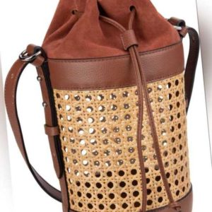 Coccinelle Handtasche Beta Vienna Straw 2302 Brulé ab 239.00 () Euro im Angebot