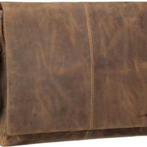 Greenburry Notebooktasche / Tablet Vintage 1632 Kuriertasche Sattelbraun ab 149.00 (169.00) Euro im Angebot
