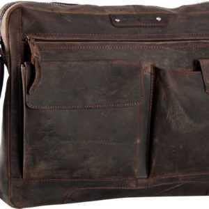 Greenburry Notebooktasche / Tablet Vintage Revival Sattle Bag Brown ab 155.00 (189.00) Euro im Angebot