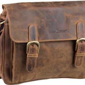 Greenburry Umhängetasche Vintage 1740 Tasche Sattelbraun ab 145.00 () Euro im Angebot