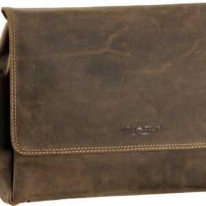 Greenburry Umhängetasche Vintage A4 Umhängetasche Sattelbraun ab 125.00 (149.00) Euro im Angebot