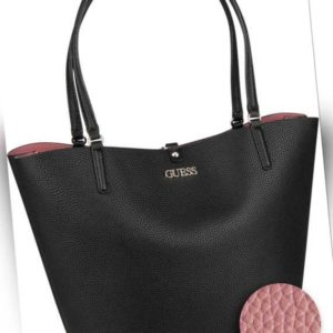 Guess Shopper Alby Toggle Tote Black (innen: Rosa) ab 129.00 () Euro im Angebot