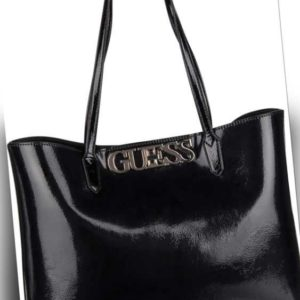 Guess Shopper Uptown Chic Patent Barcelona Tote Black ab 110.00 (129.00) Euro im Angebot